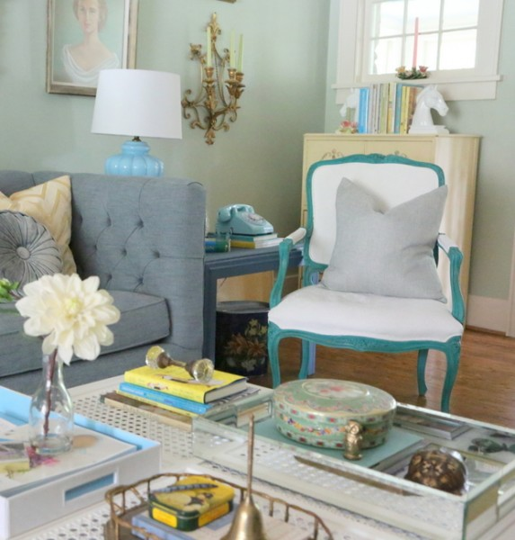 painted fabric upholstery