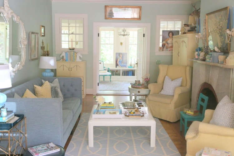 Light and Happy Living Room Reveal