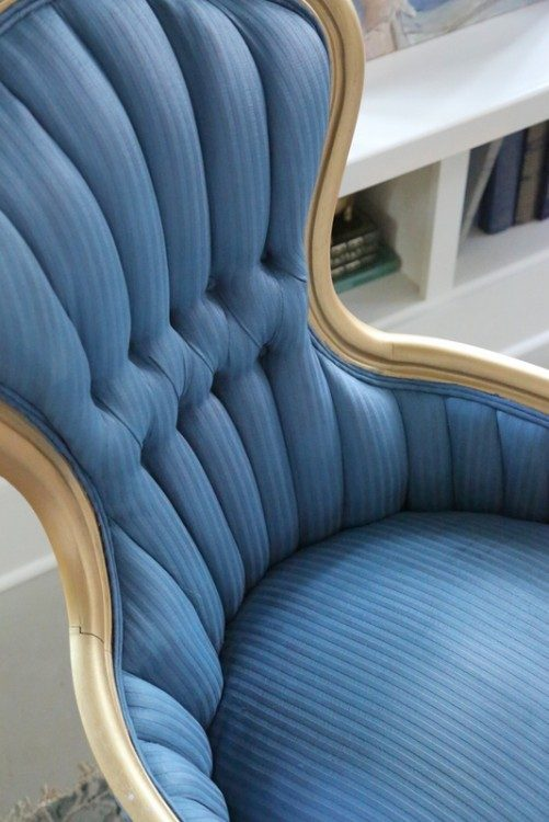 using chalk paint on upholstery