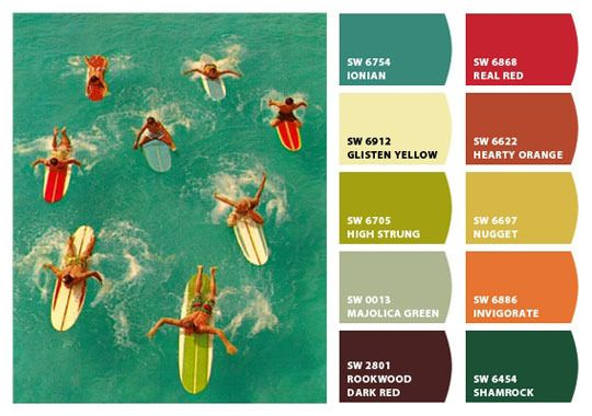 Beach House Paint Colors - The Decorologist