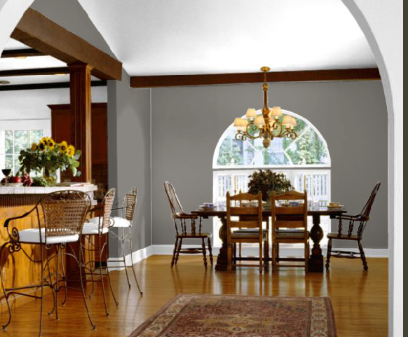 Beau Gray Dining Room