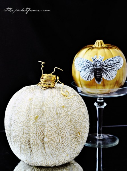 white-and-gold-decoupage-pumpkins-2