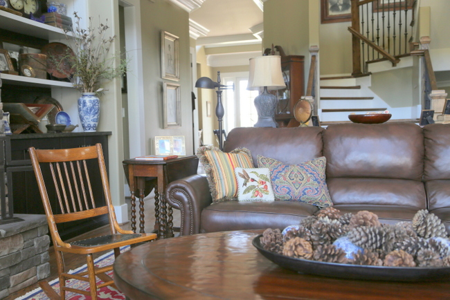 Are Y'all Ready for Fall?  Cozy Hilltop Retreat Before and Afters