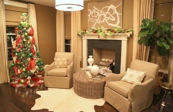 southern living idea house fontanel christmas decorations