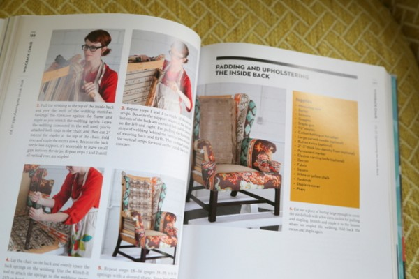 reupholstery book