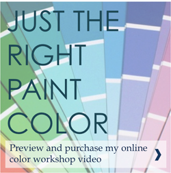 Just the Right Paint Color Instructional Video
