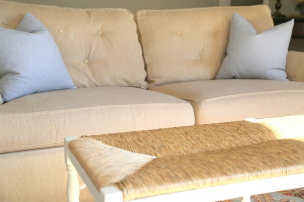 Sofa Cushion Tufting Fix