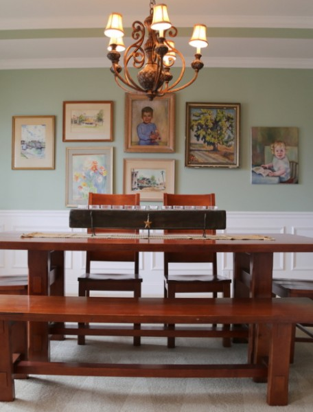 gallery art dining room