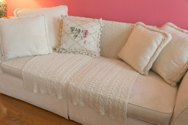how to update an old sofa