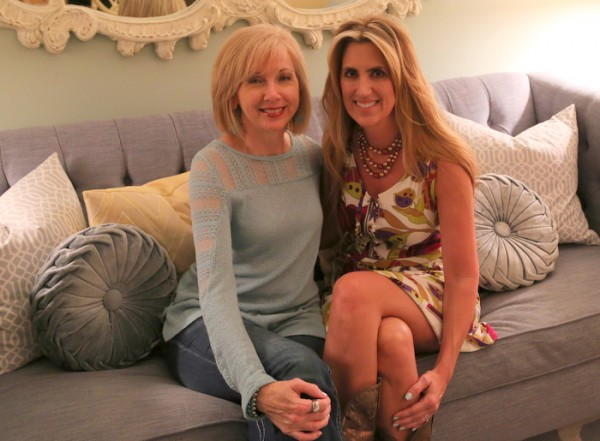 Rhoda of Southern Hospitality and Kristie Barnett, The Decorologist