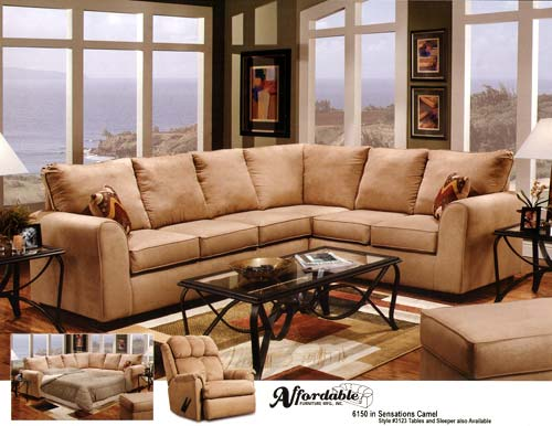 A Typical Sectional Sofa