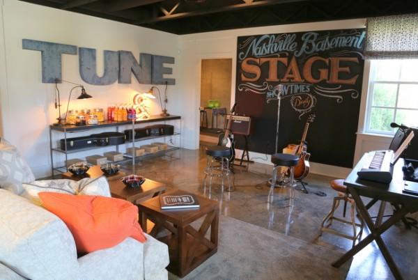 musician man cave hgtv smart home