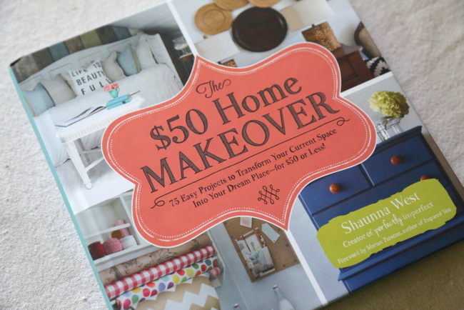 The $50 Home Makeover – Book Giveaway