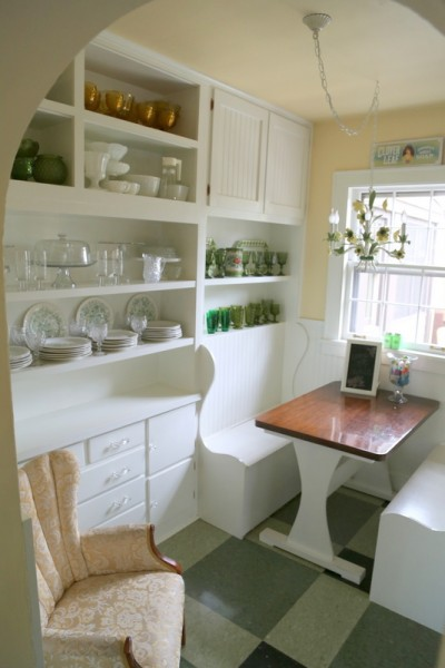 vintage kitchen butlers pantry