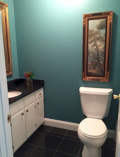 sherwin williams lagoon bathroom