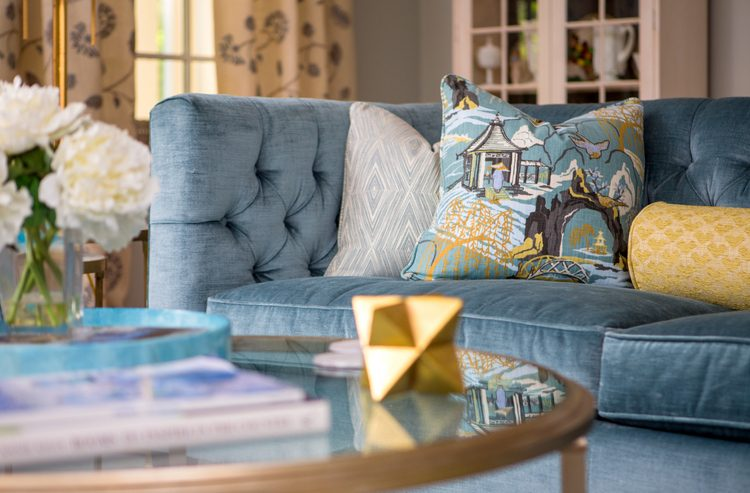 nashville living room design by The Decorologist