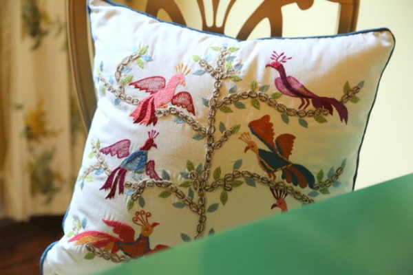world market caravan pillow