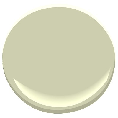 the green i would have chosen instead - benjamin moore's 2015