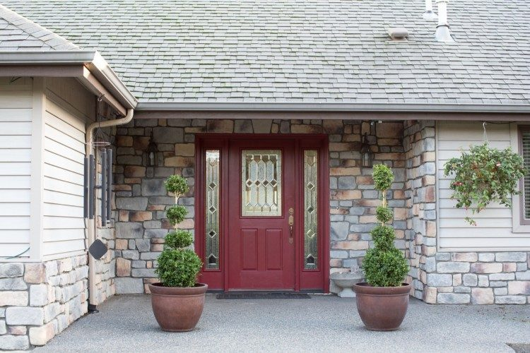 Should The Sidelights Match The Front Door Or Match The Trim?