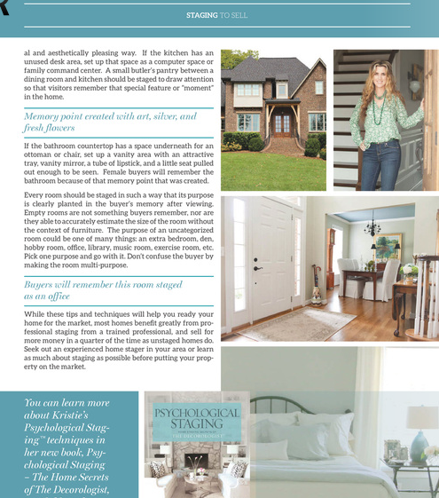 the decorologist in everyday home magazine