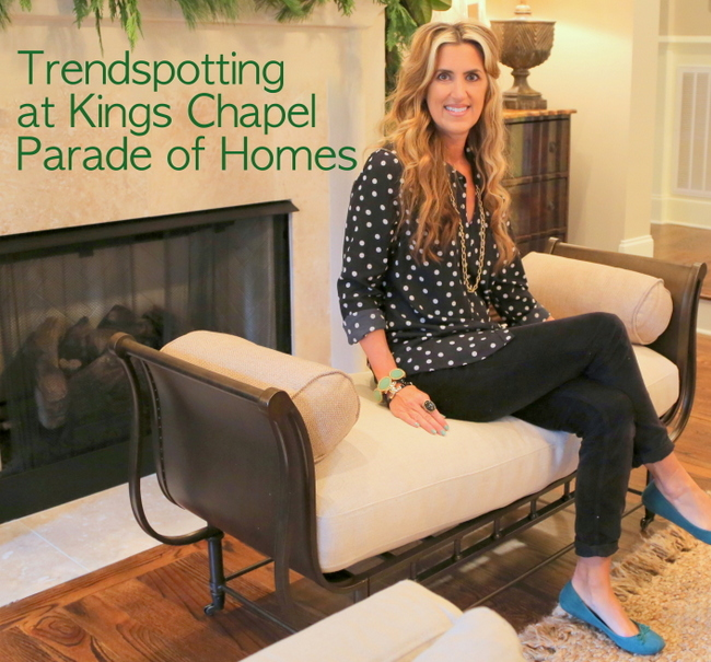 Trendspotting at Kings Chapel Parade of Homes