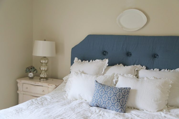 ruffled linens bedding