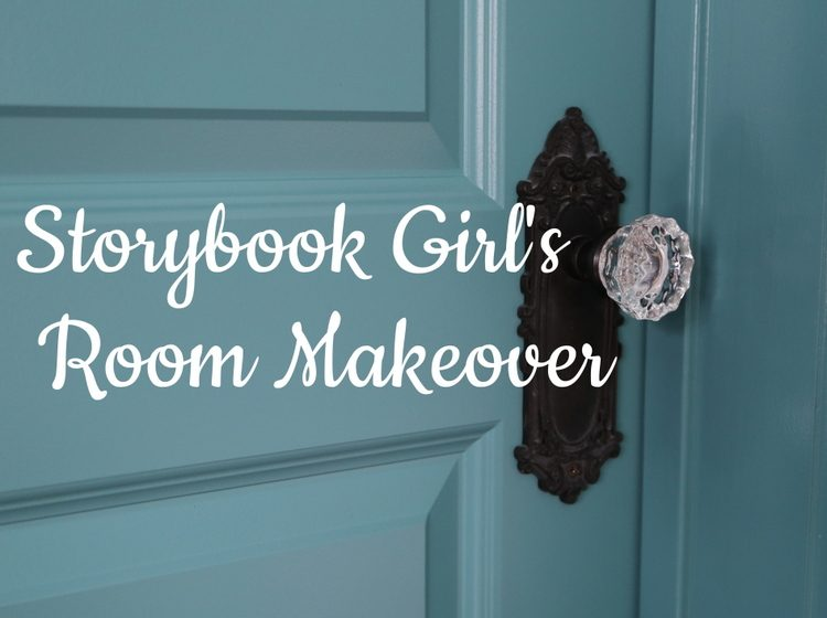 storybook girls room makeover