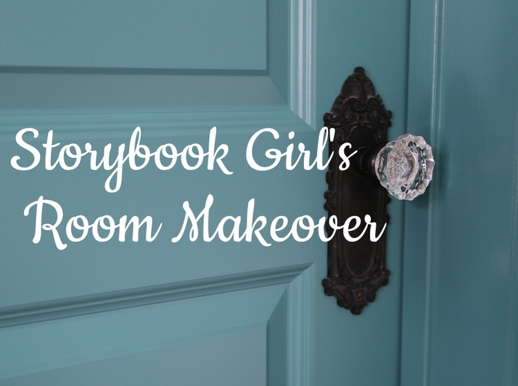 Storybook Girl's Room Makeover