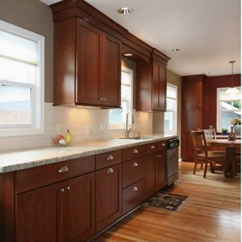 Best Granite Countertops For Cherry Cabi s besides Kitchen Designs also Ideas De Cocinas Color Chocolate also 2 additionally List 1. on kitchen backsplash trends 2015