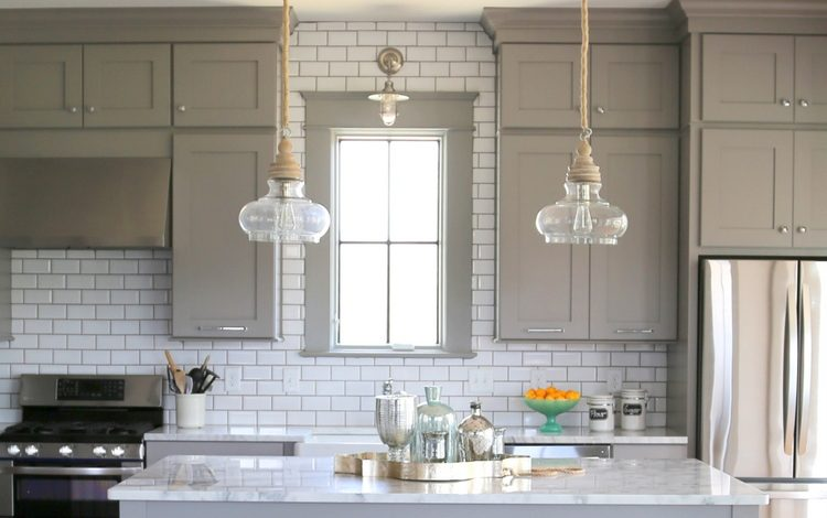Kitchen Cabinets Up To Ceiling kitchen tile backsplash - why you should take it all the way up to