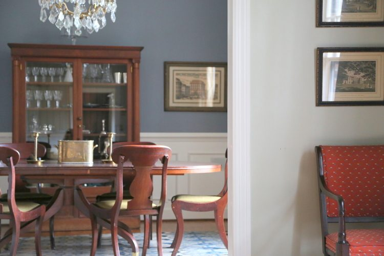 best dining room paint color - The Best Dining Room Paint Color