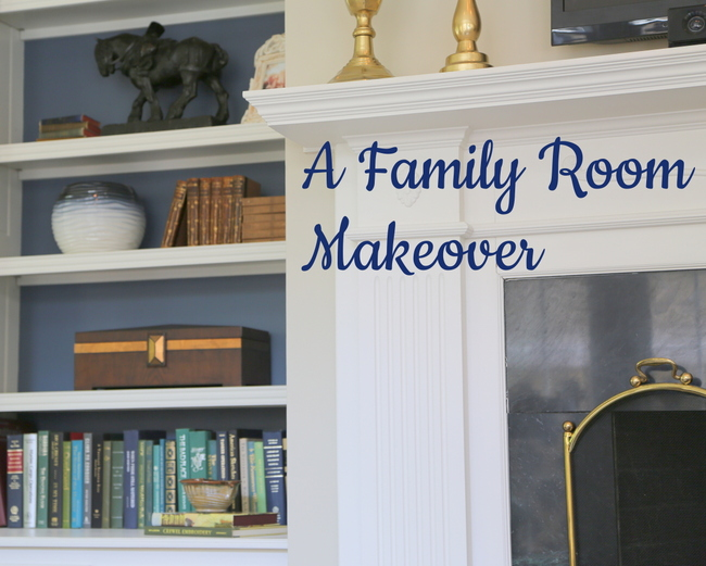 A Family Room Makeover: Child-Friendly and High Style