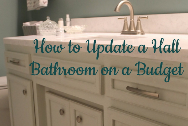 How To Update A Hall Bathroom On Budget