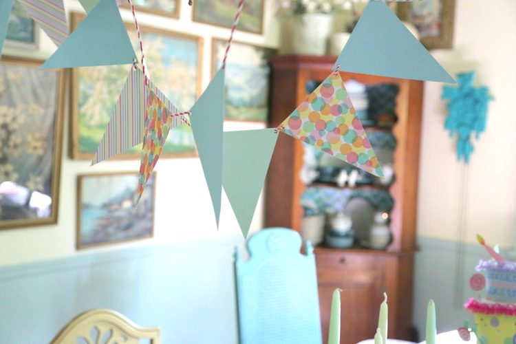 paper pendant party decor