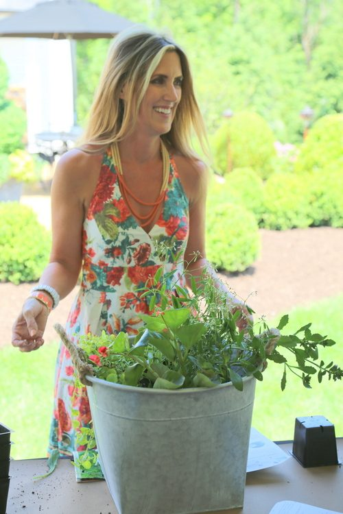 kristie barnett at nashville symphony showhouse garden party