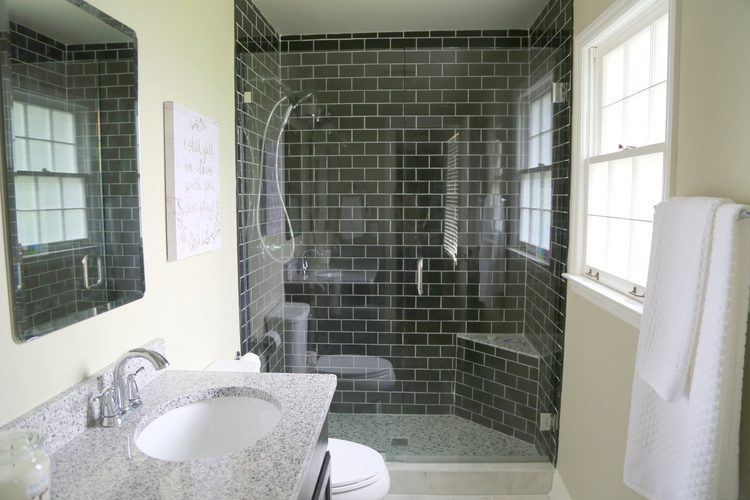 bathroom subway tile. black subway tile shower bathroom m