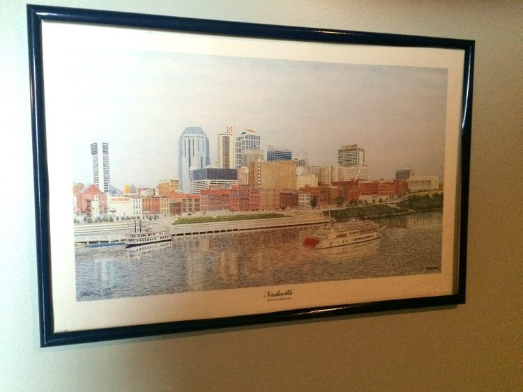 nashville skyline art
