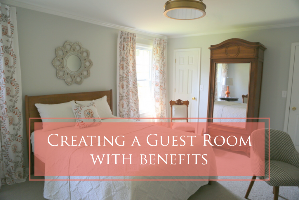 From a Messy Office to a Guest Room with Benefits
