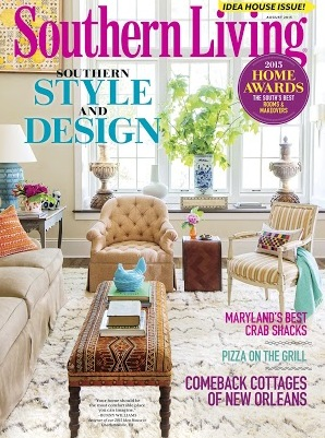 southern living cover decorologist