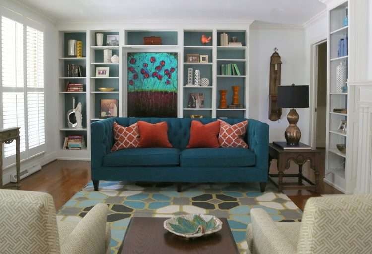 the decorologist living room design