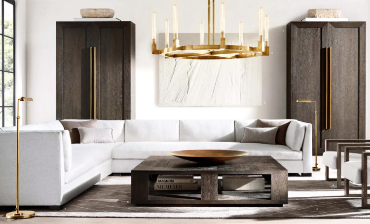 the 2016 restoration hardware reboot more gold less 52726