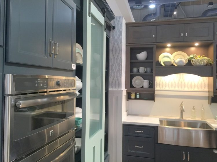 blue green kitchen kbis