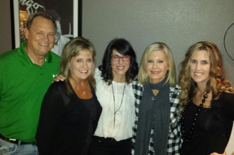 backstage with olivia newton john