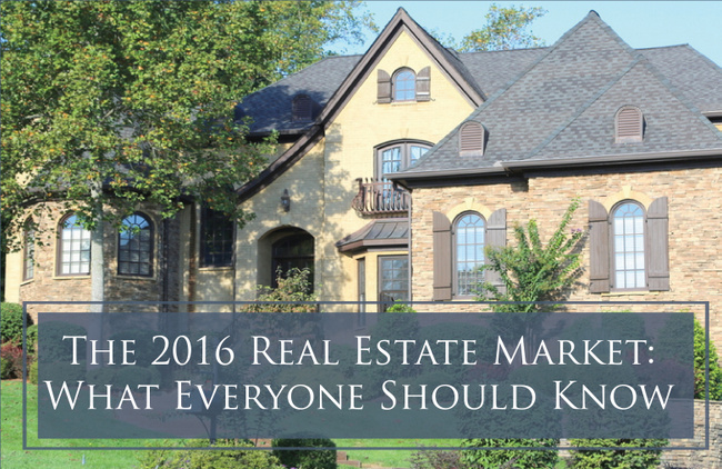 2016 Real Estate – 5 Things Everyone Should Know
