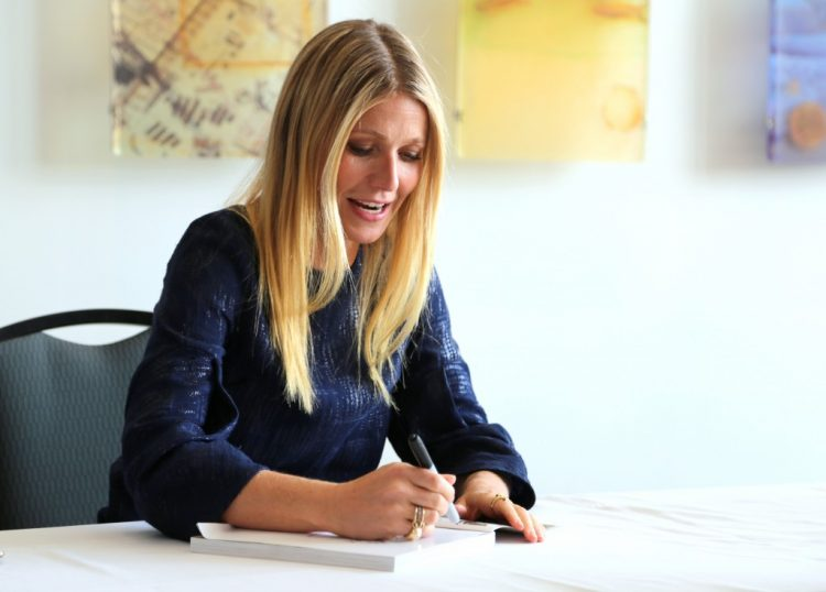 gwyneth paltrow book signing in Nashville