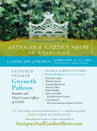 nashville antiques and gardens show