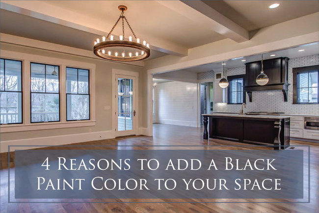 The Reasons You Should Use a Black Paint Color in Your Space