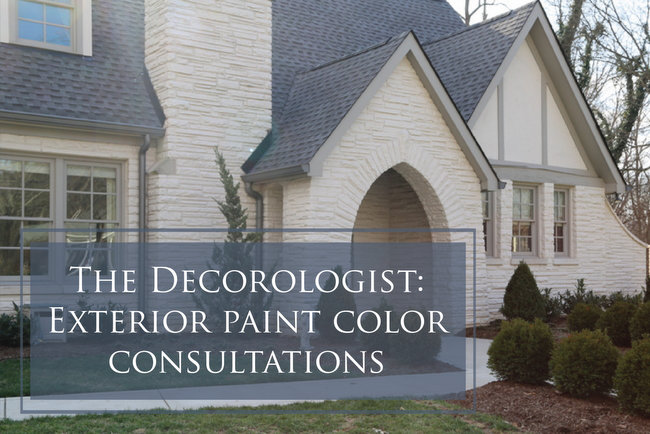 exterior paint color consultation