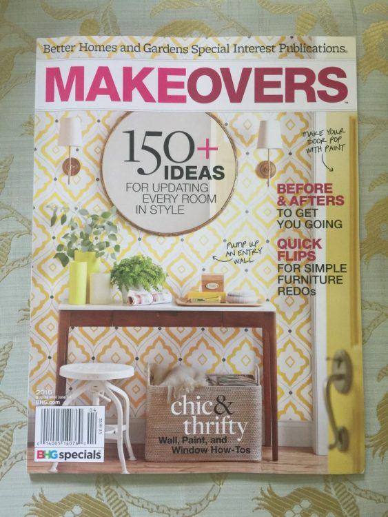 better homes and gardens makeovers magazine