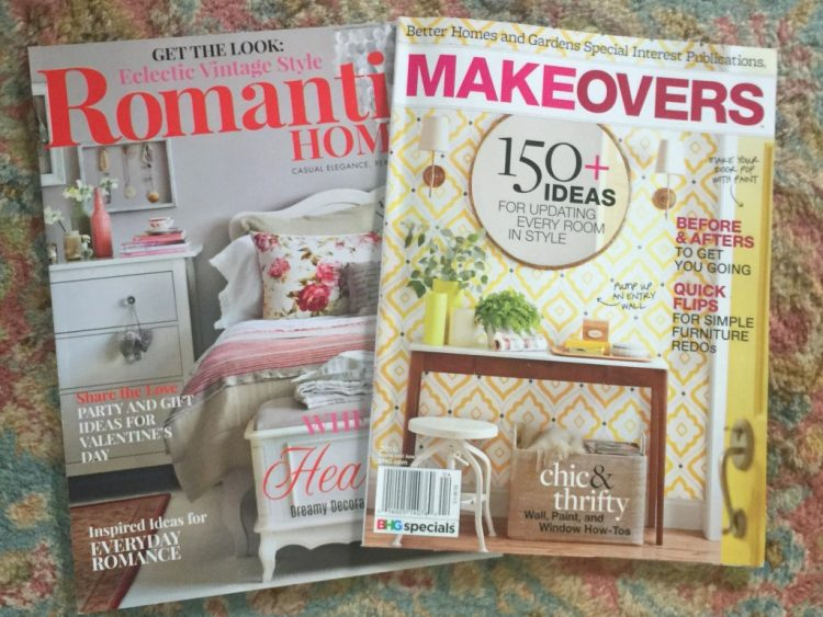 magazines featuring the decorologist